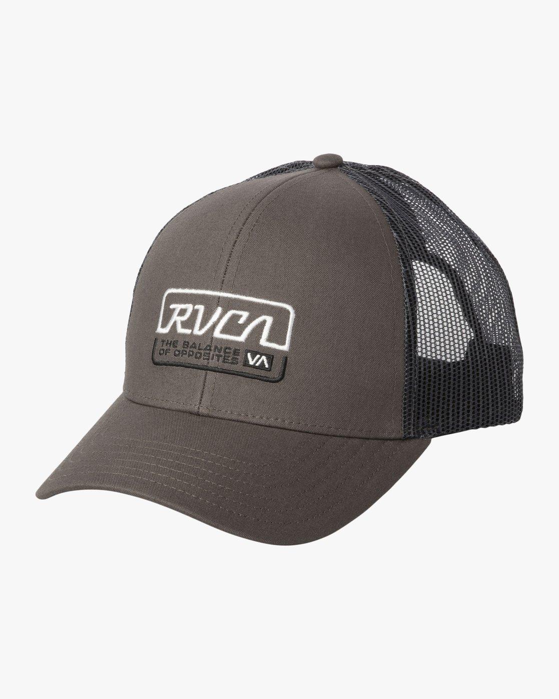 0 FACTORY TRUCKER Grey MAHW3RFT RVCA