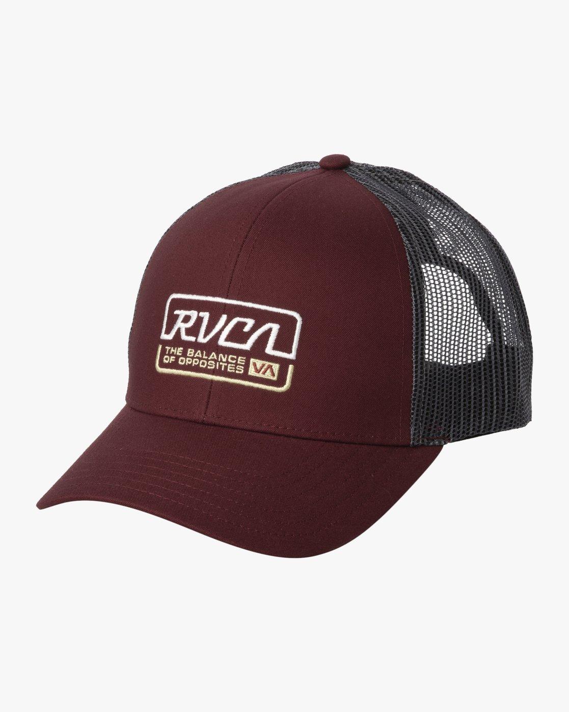 1 FACTORY TRUCKER Grey MAHW3RFT RVCA