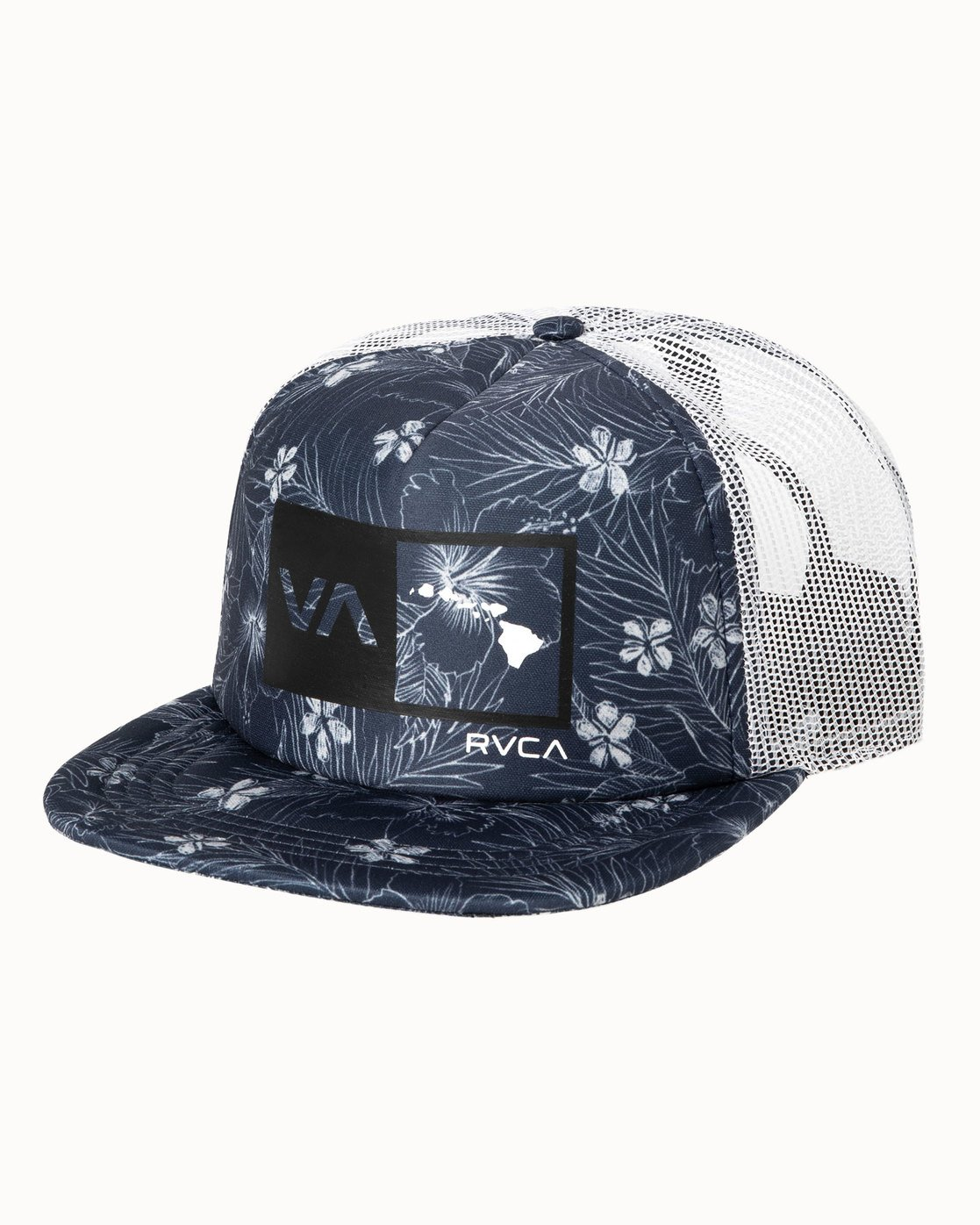 1 ISLANDS HEX SNAPBACK HAT Blue MAHW3RIH RVCA