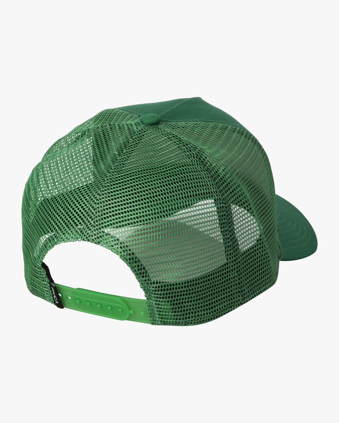1 LINX CURVED TRUCKER Green MAHW3RLX RVCA