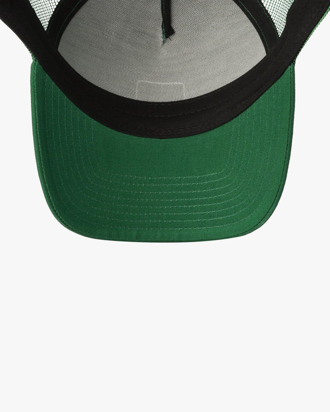 2 LINX CURVED TRUCKER Green MAHW3RLX RVCA