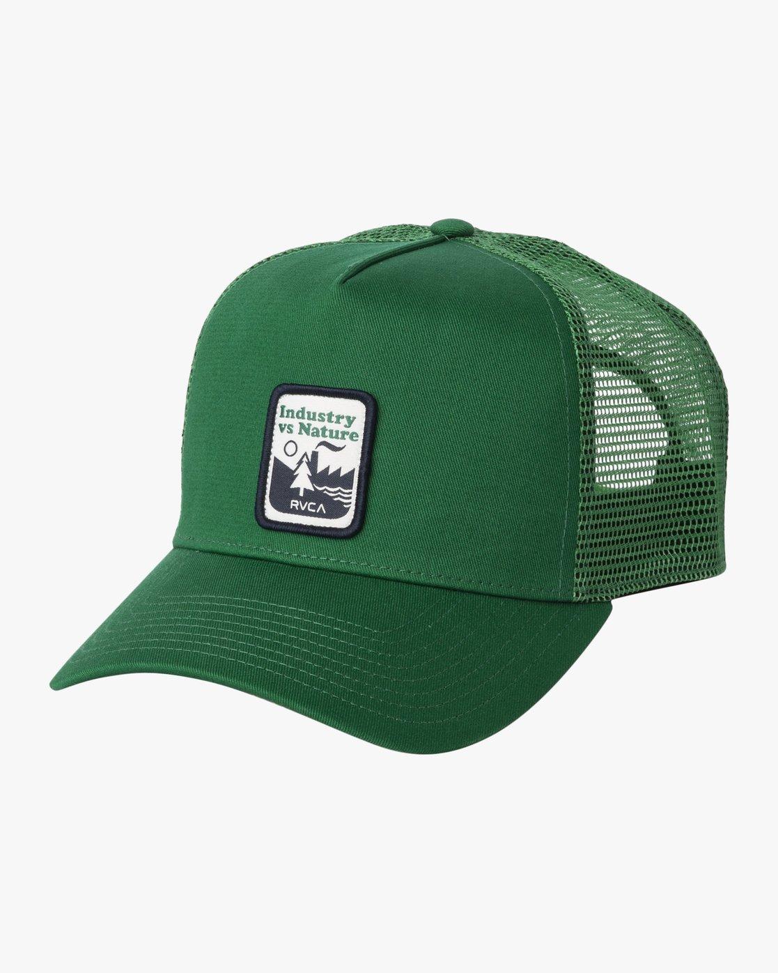 0 LINX CURVED TRUCKER Green MAHW3RLX RVCA
