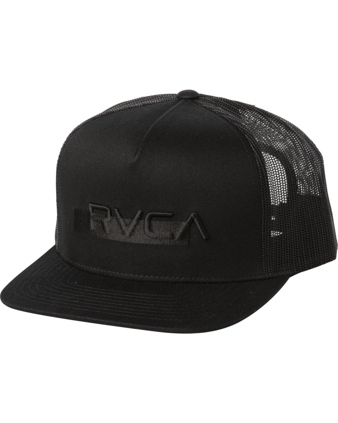 0 OVERLAY TRUCKER Black MAHW3ROT RVCA