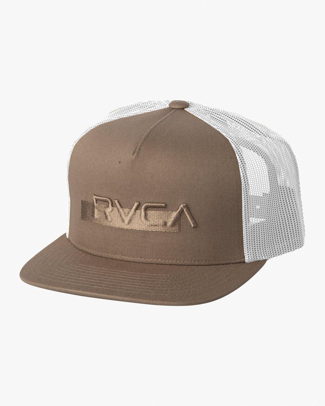 0 OVERLAY TRUCKER White MAHW3ROT RVCA
