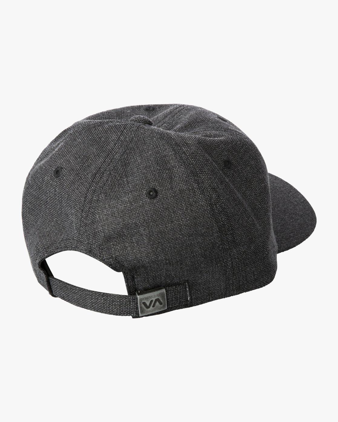 3 PALTA CLASPBACK HAT Black MAHW3RPC RVCA