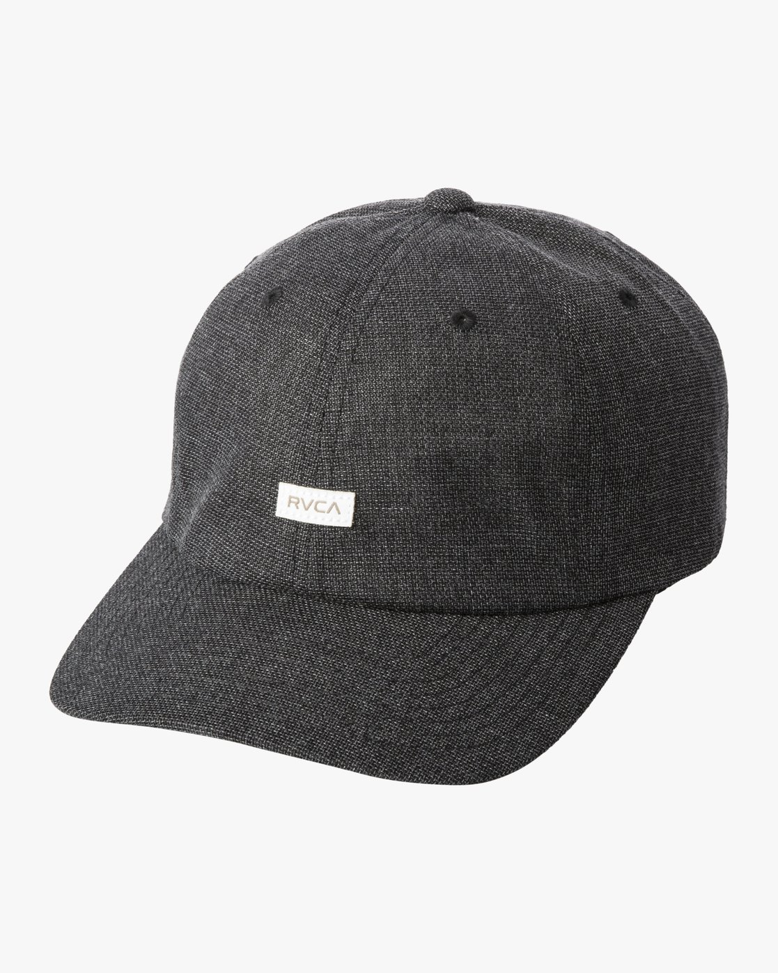 2 PALTA CLASPBACK HAT Black MAHW3RPC RVCA