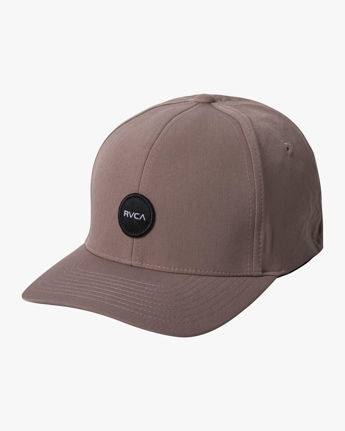 0 SHANE FLEXFIT HAT Purple MAHW3RSF RVCA