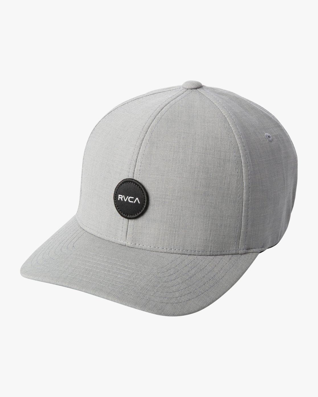 2 SHANE FLEXFIT HAT Grey MAHW3RSF RVCA