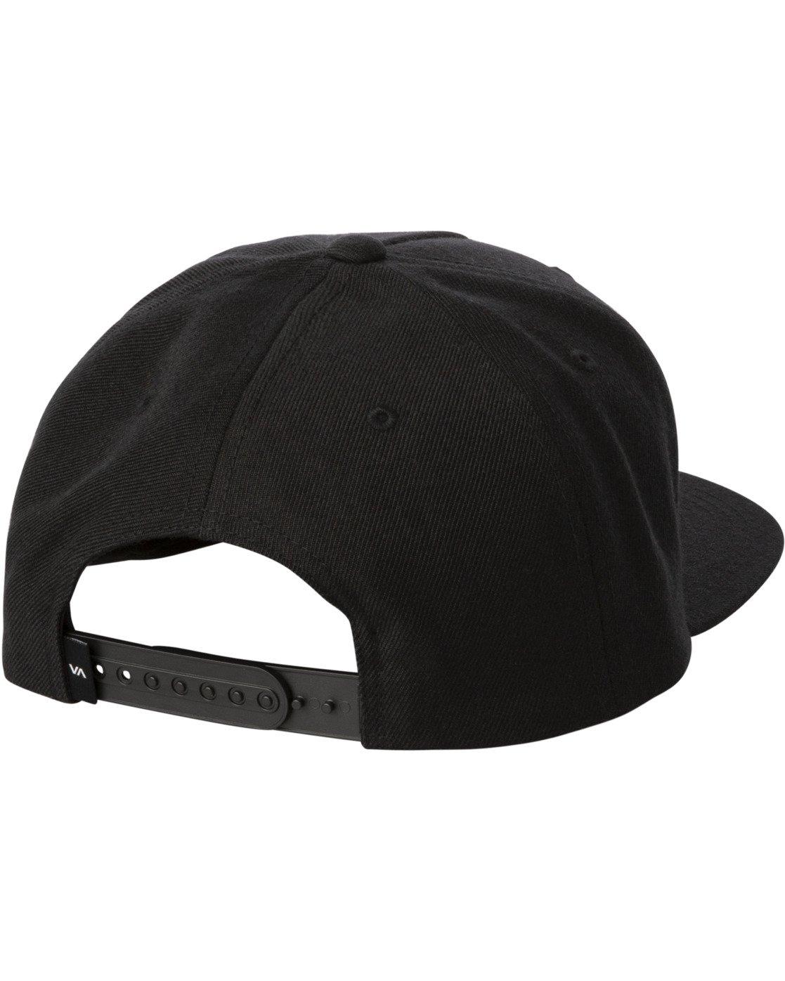 1 STANLEY SNAPBACK HAT Black MAHW3RSS RVCA
