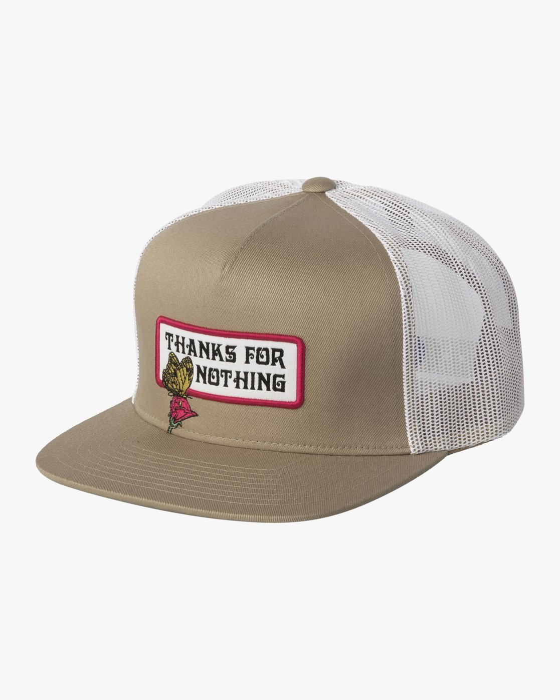 0 THANKS TRUCKER Beige MAHW3RTT RVCA