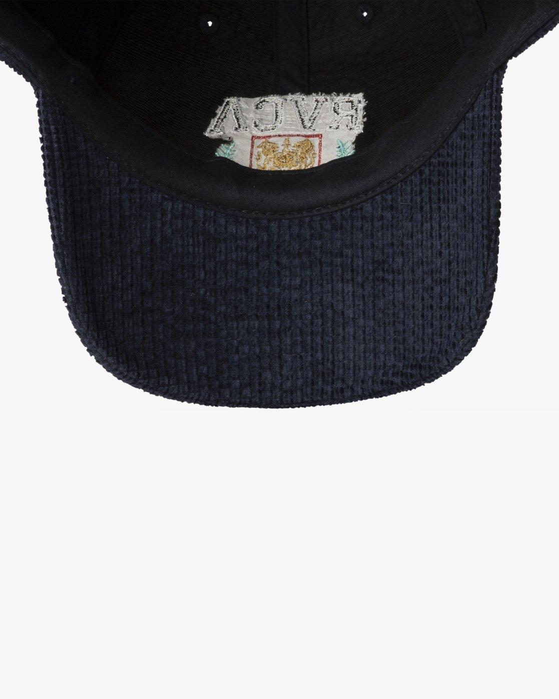 2 UNIVERSITY CAP Blue MAHW3RUC RVCA