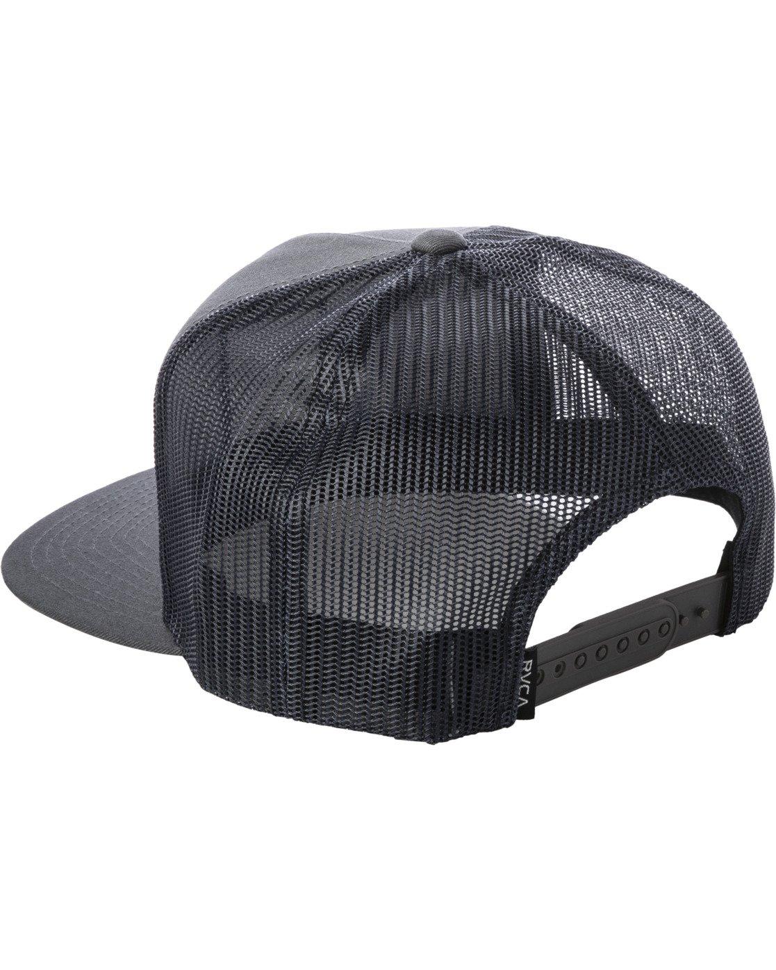 2 VA ATW PRINT TRUCKER HAT Grey MAHW3RVP RVCA