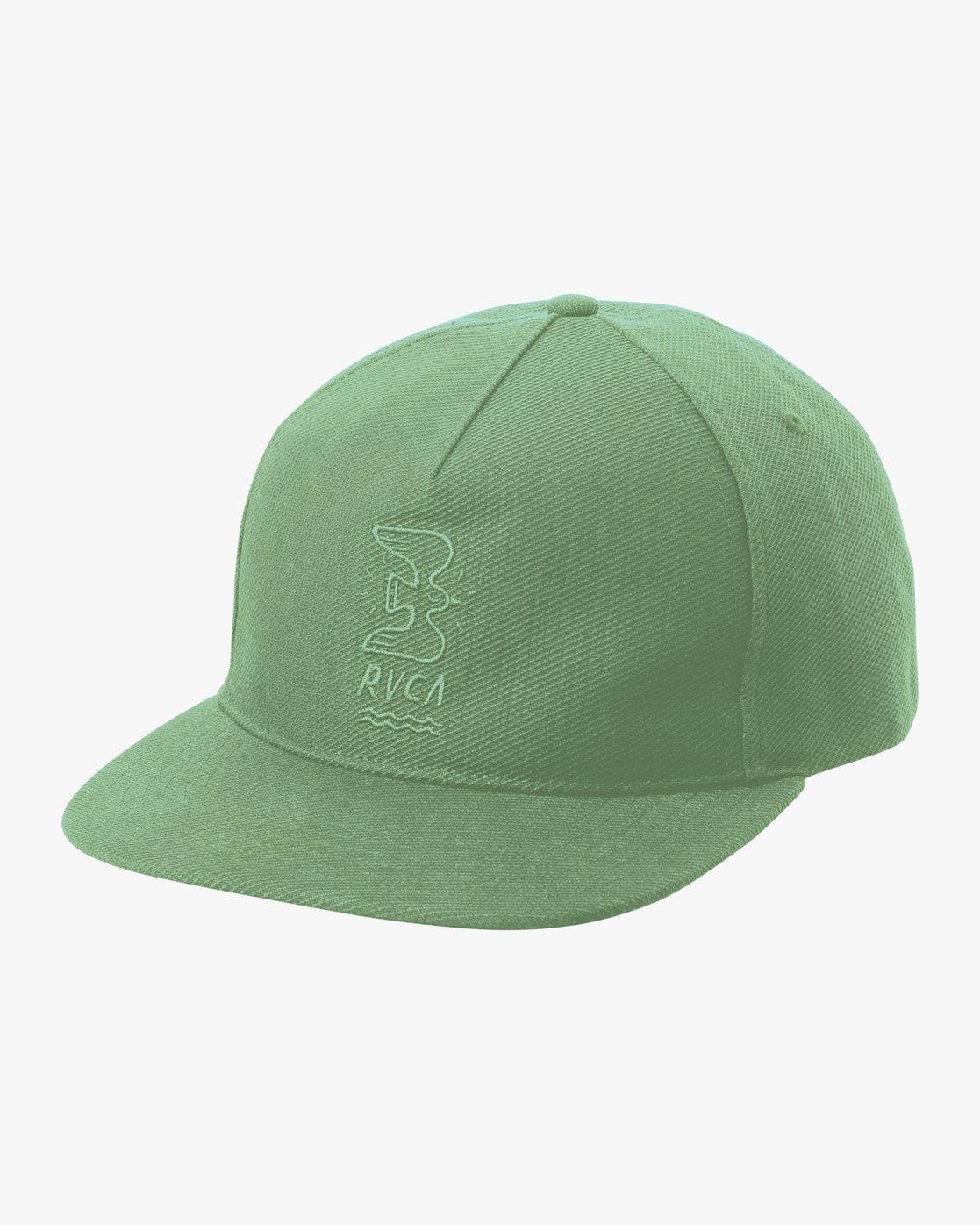 9ec93b9d 0 Stress Free Strapback Hat MAHWNRSF RVCA