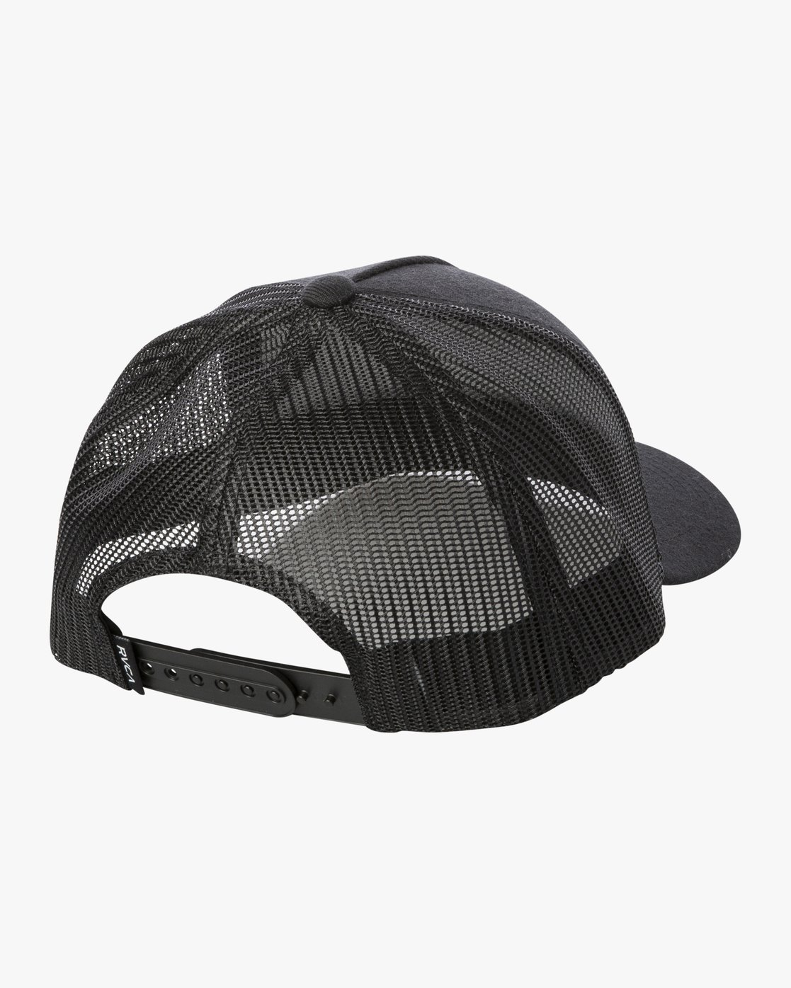 2 VA All The Way Curved Brim Trucker Hat Black MAHWPRVA RVCA