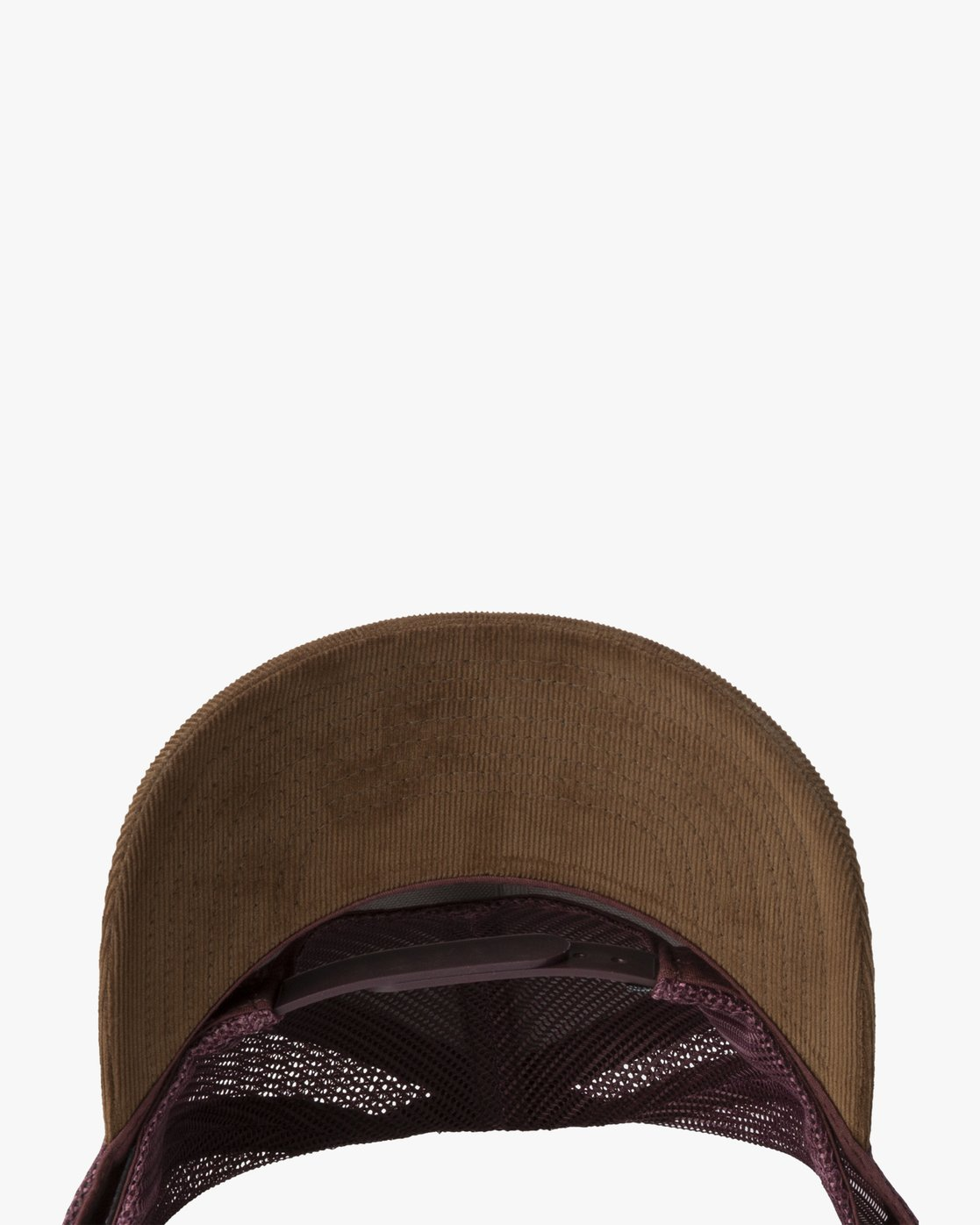 2 VA ATW CURVED BRIM TRUCKER HAT Brown MAHWPRVA RVCA