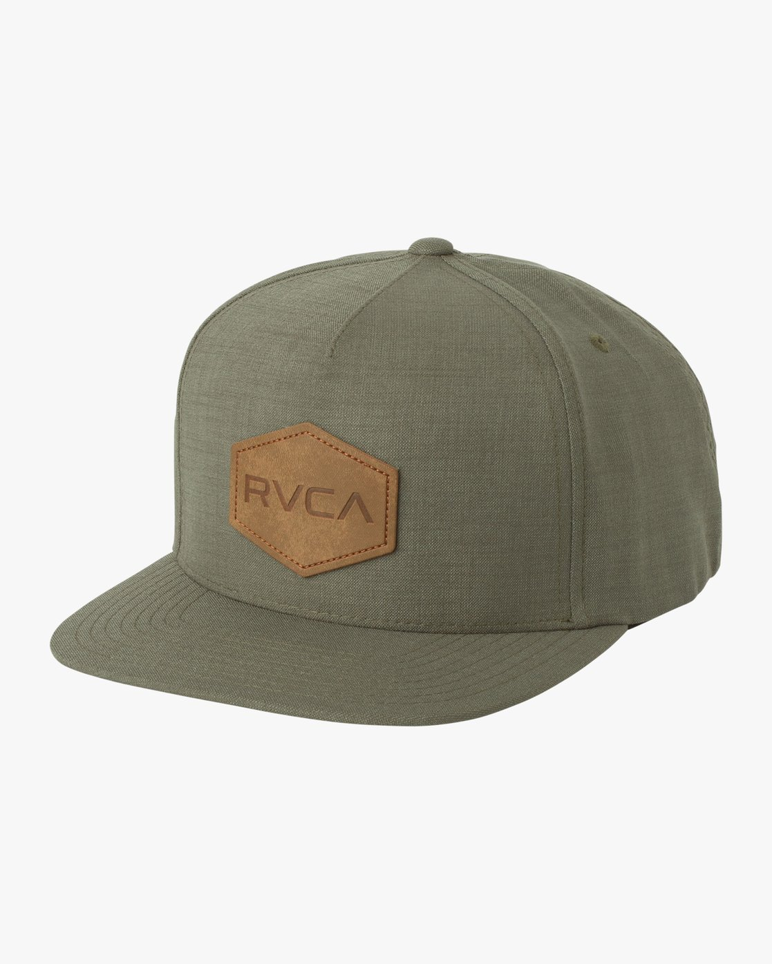 3b6a1341afce7 0 Commonwealth Deluxe Snapback Hat Green MAHWQRCM RVCA