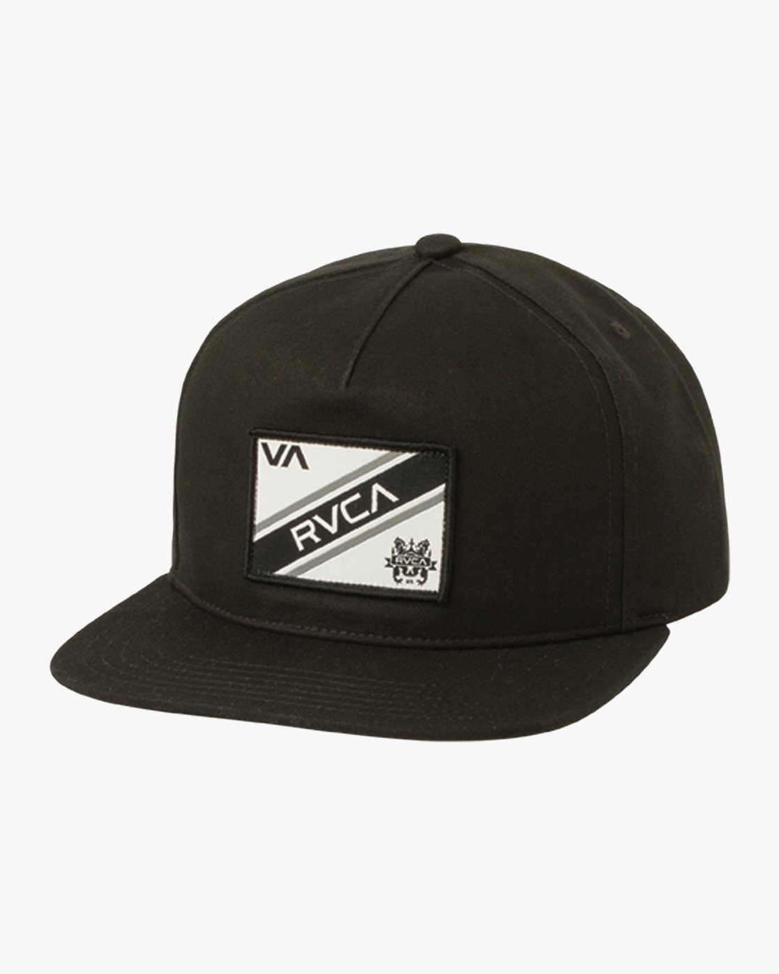 081f9590bd24da 0 Places Structured Snapback Hat Black MAHWQRNP RVCA