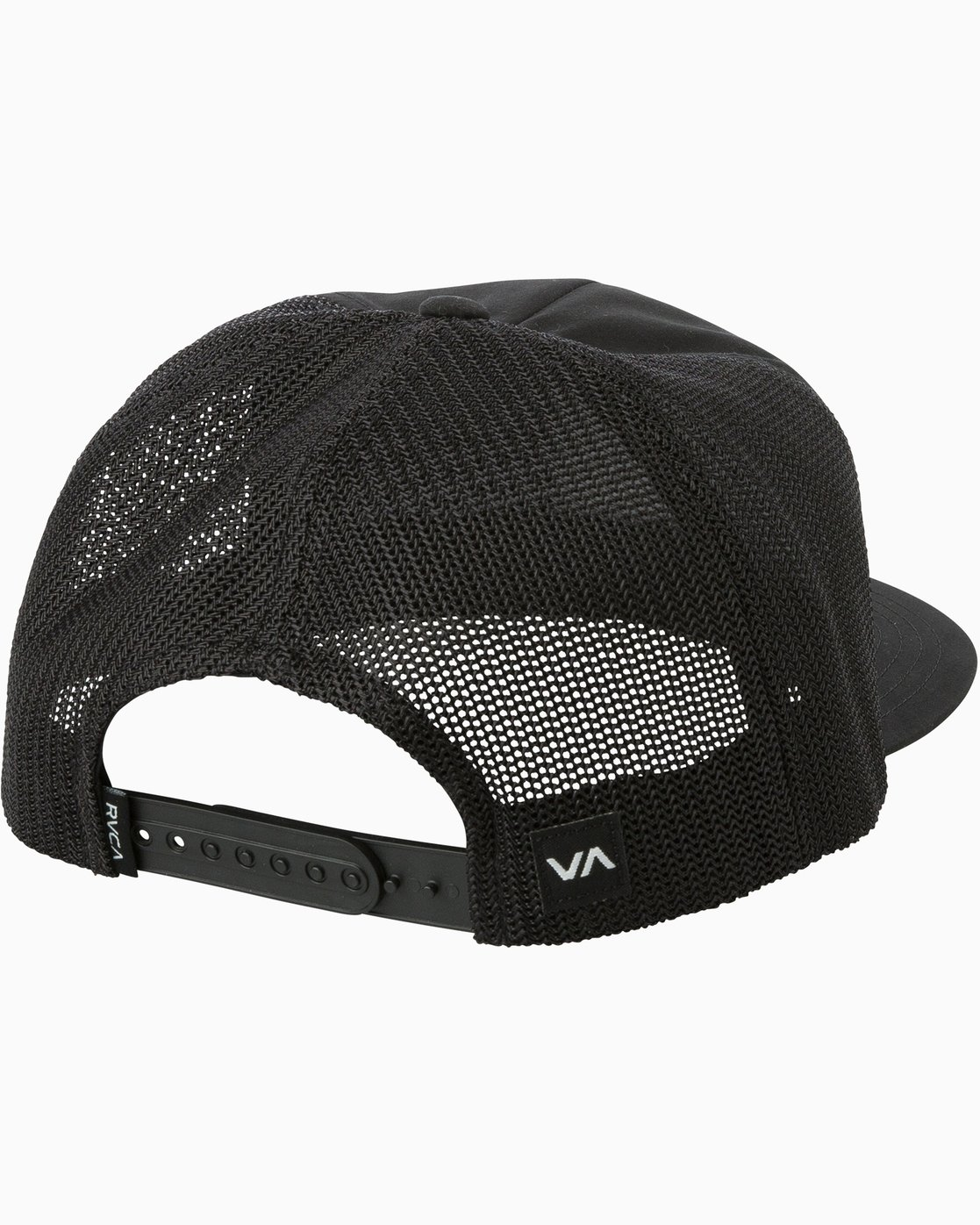 1 VA All The Way Trucker Delux Hat Black MAHWQRTD RVCA