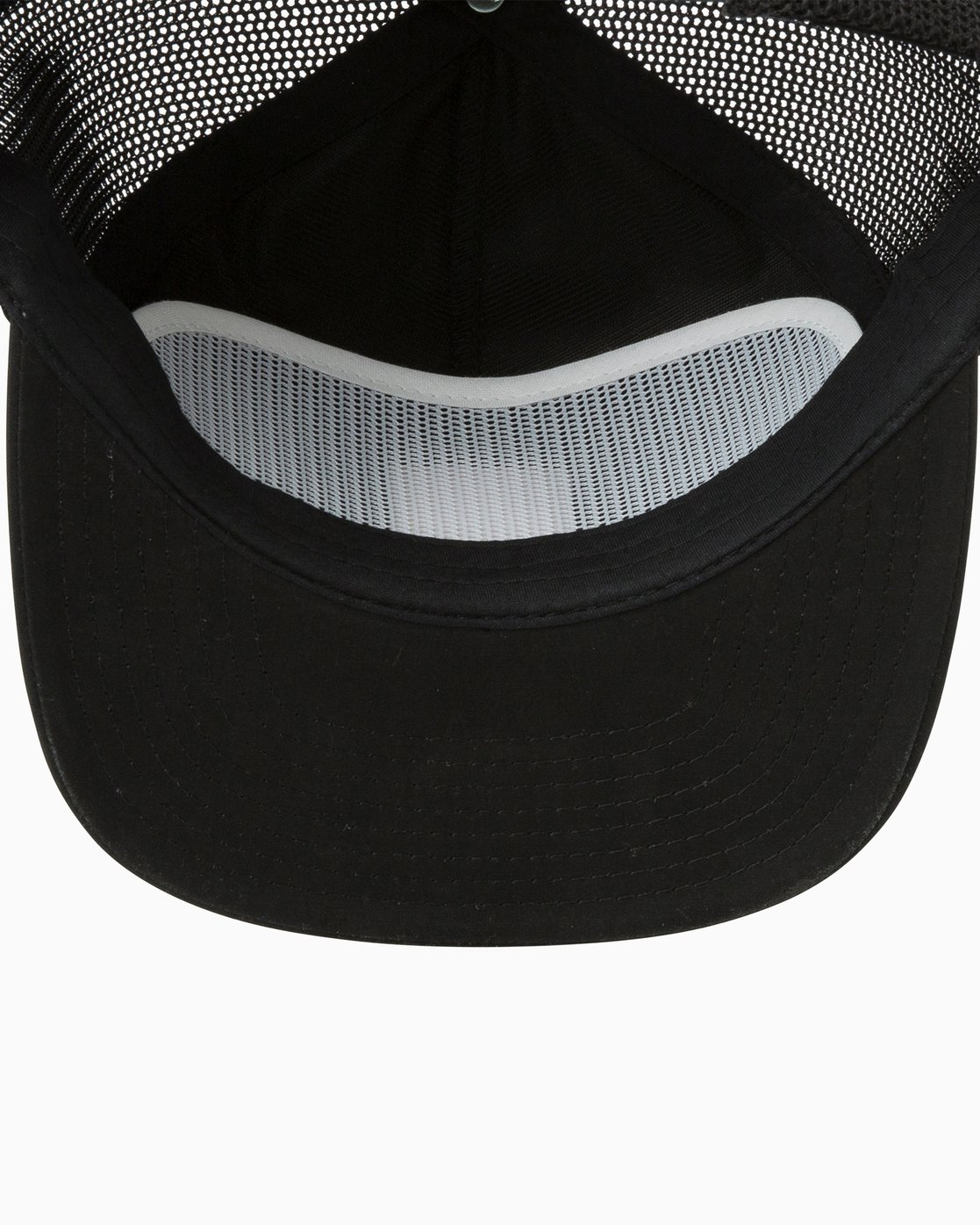 2 VA All The Way Trucker Delux Hat Black MAHWQRTD RVCA