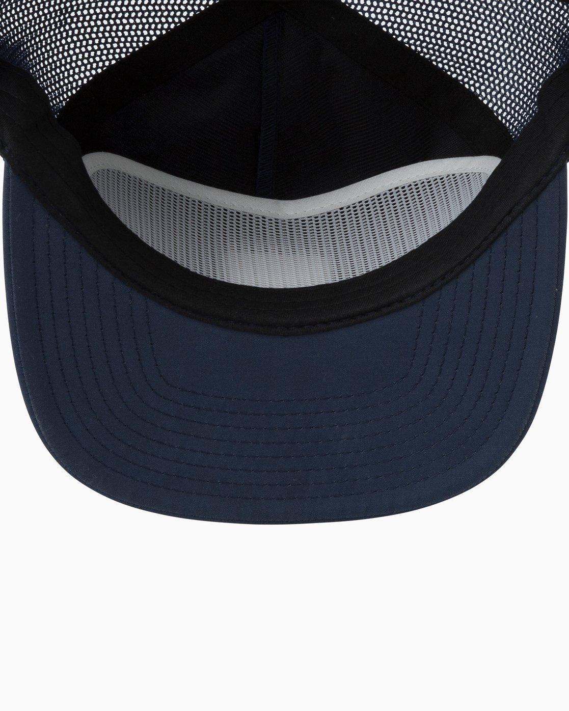 2 VA All The Way Trucker Delux Hat Blue MAHWQRTD RVCA