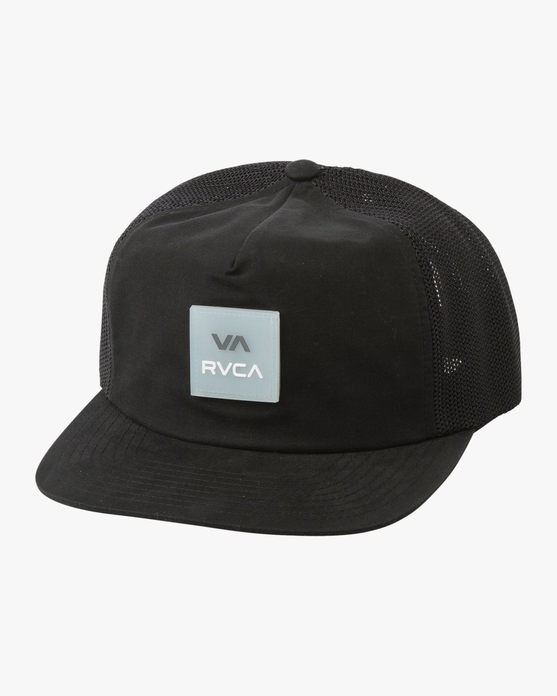0 VA All The Way Trucker Delux Hat Grey MAHWQRTD RVCA