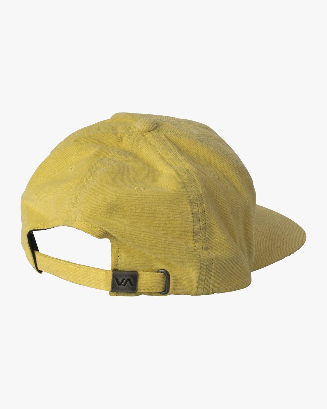 1 Tonally Embroidered Cap Yellow MAHWQRTL RVCA