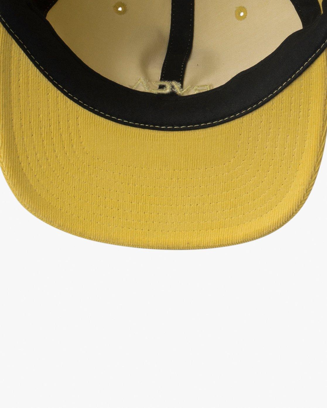 2 Tonally Embroidered Cap Yellow MAHWQRTL RVCA