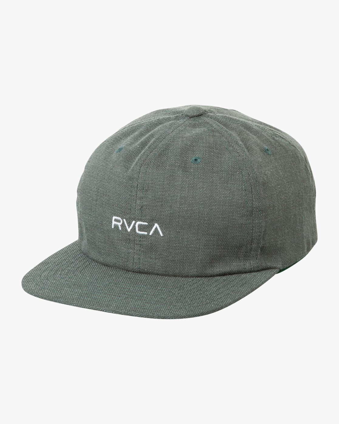 0 Tonally Embroidered Cap Green MAHWQRTL RVCA