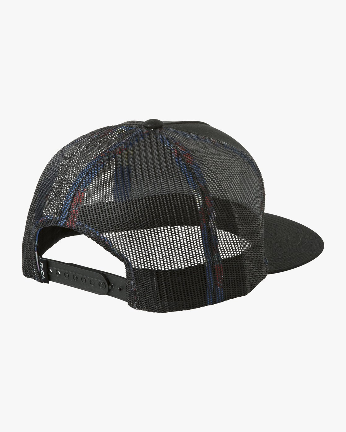 1 VA All The Way Printed Trucker Hat Black MAHWQRTP RVCA