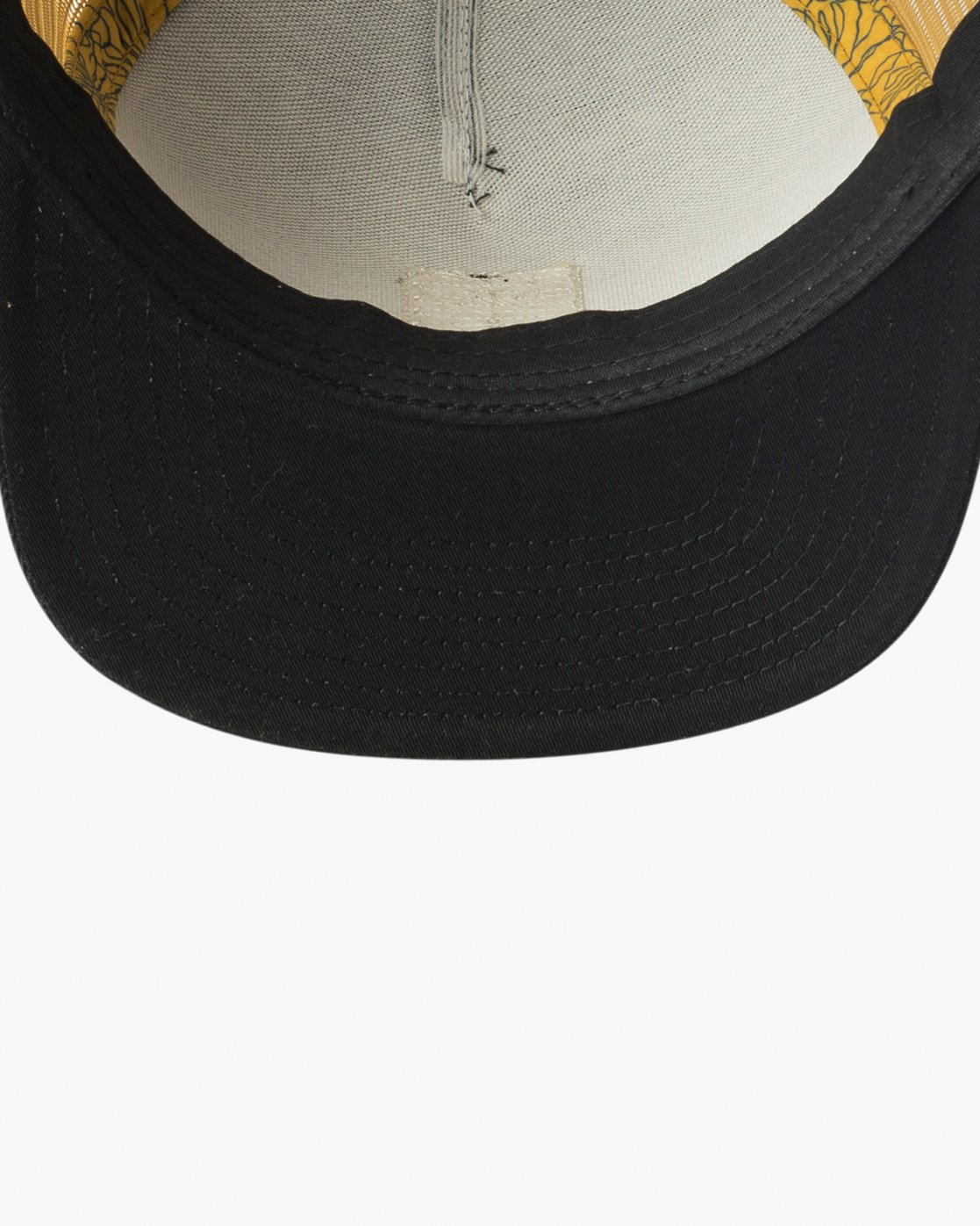 2 VA All The Way Printed Trucker Hat Black MAHWQRTP RVCA