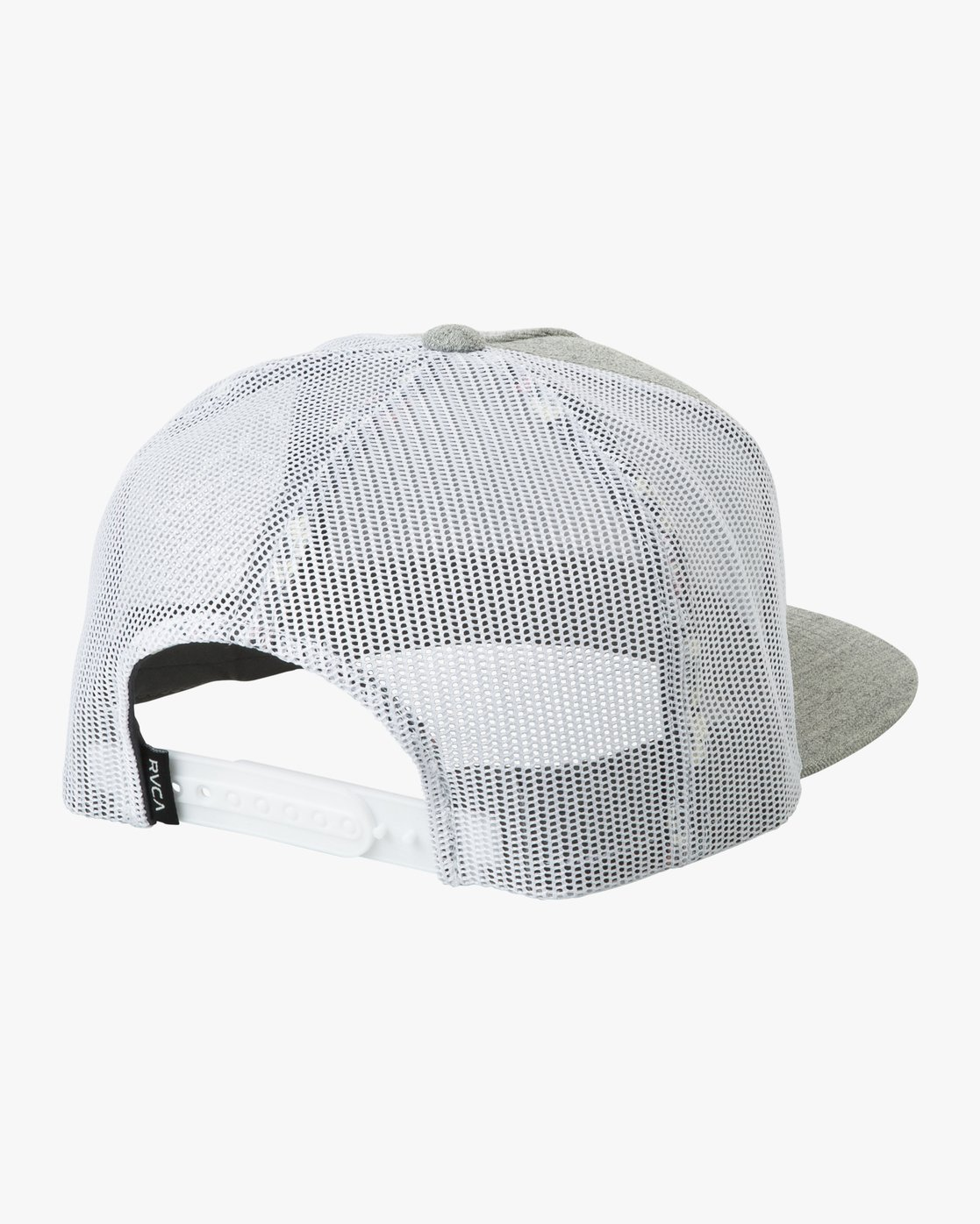 1 VA All The Way Printed Trucker Hat Grey MAHWQRTP RVCA