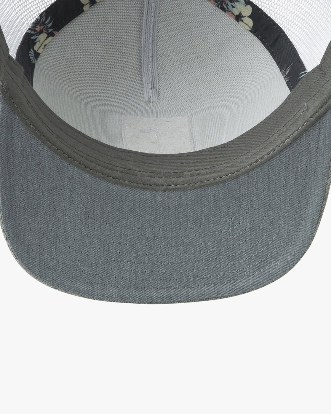 2 VA All The Way Printed Trucker Hat Grey MAHWQRTP RVCA