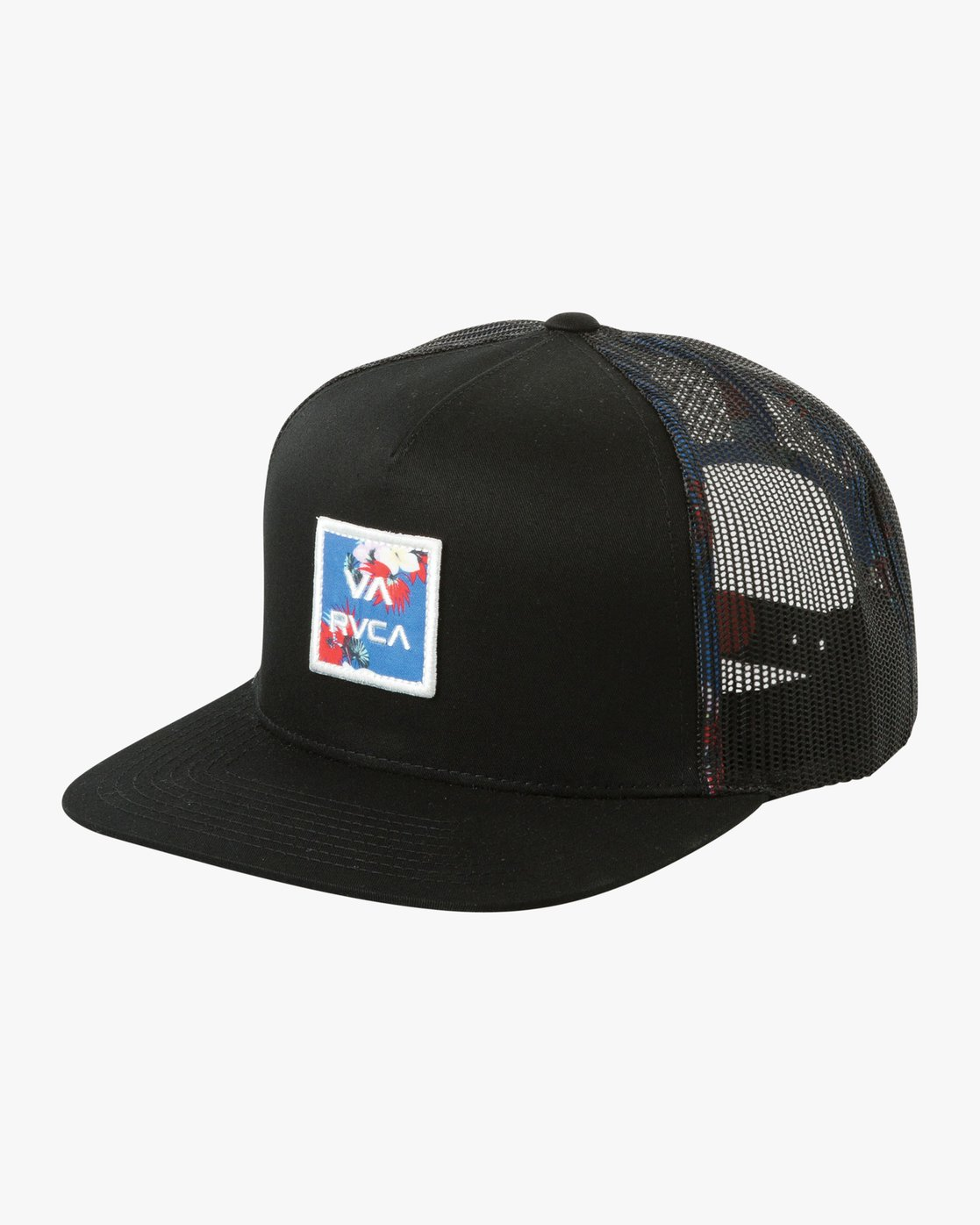 4ed41edfec0d0 0 VA All The Way Printed Trucker Hat Black MAHWQRTP RVCA