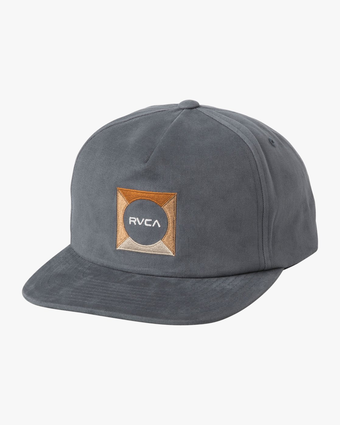 0 Cut Out Snapback Hat  MAHWTRCO RVCA