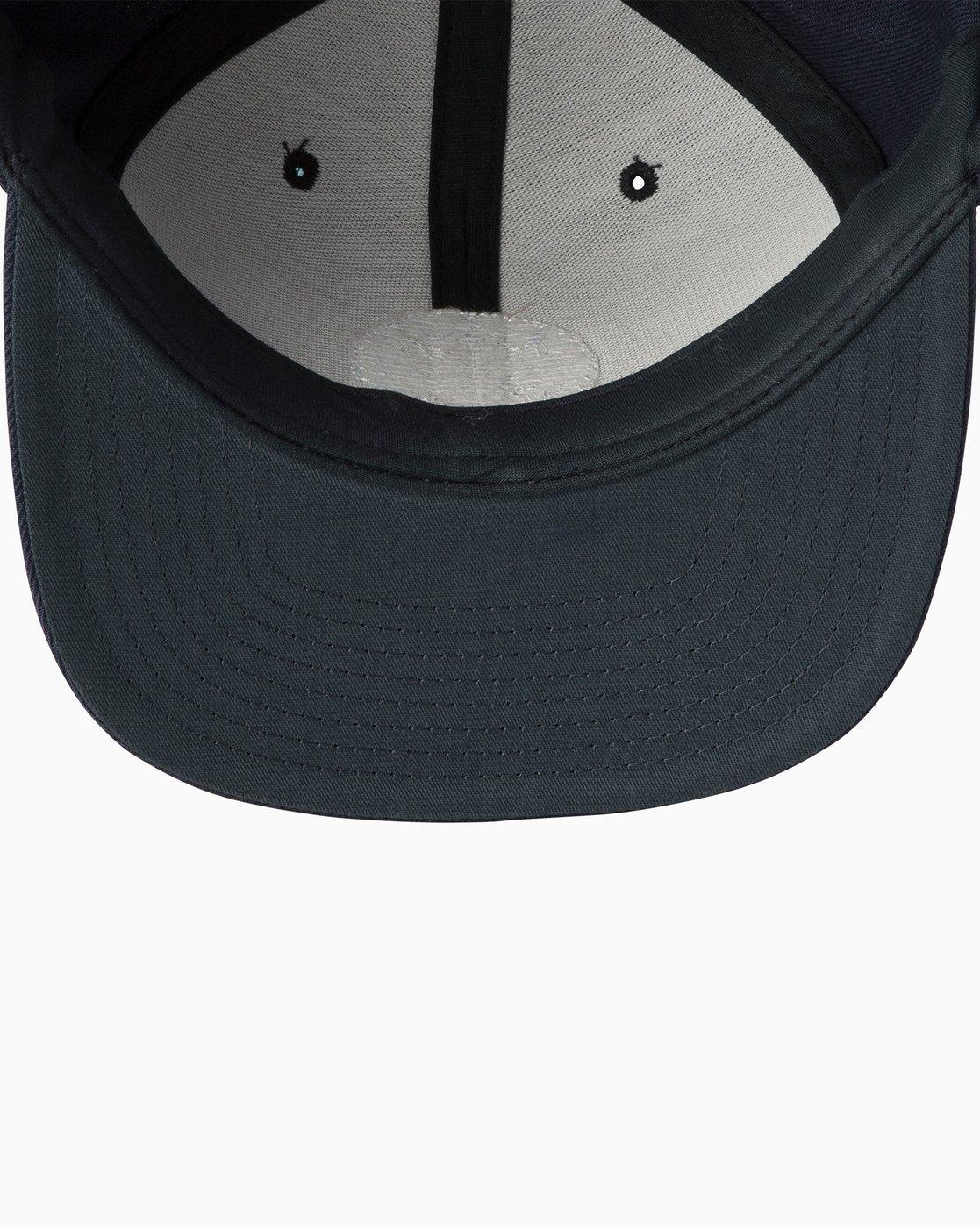 2 Diagram Snapback Hat Blue MAHWTRDG RVCA