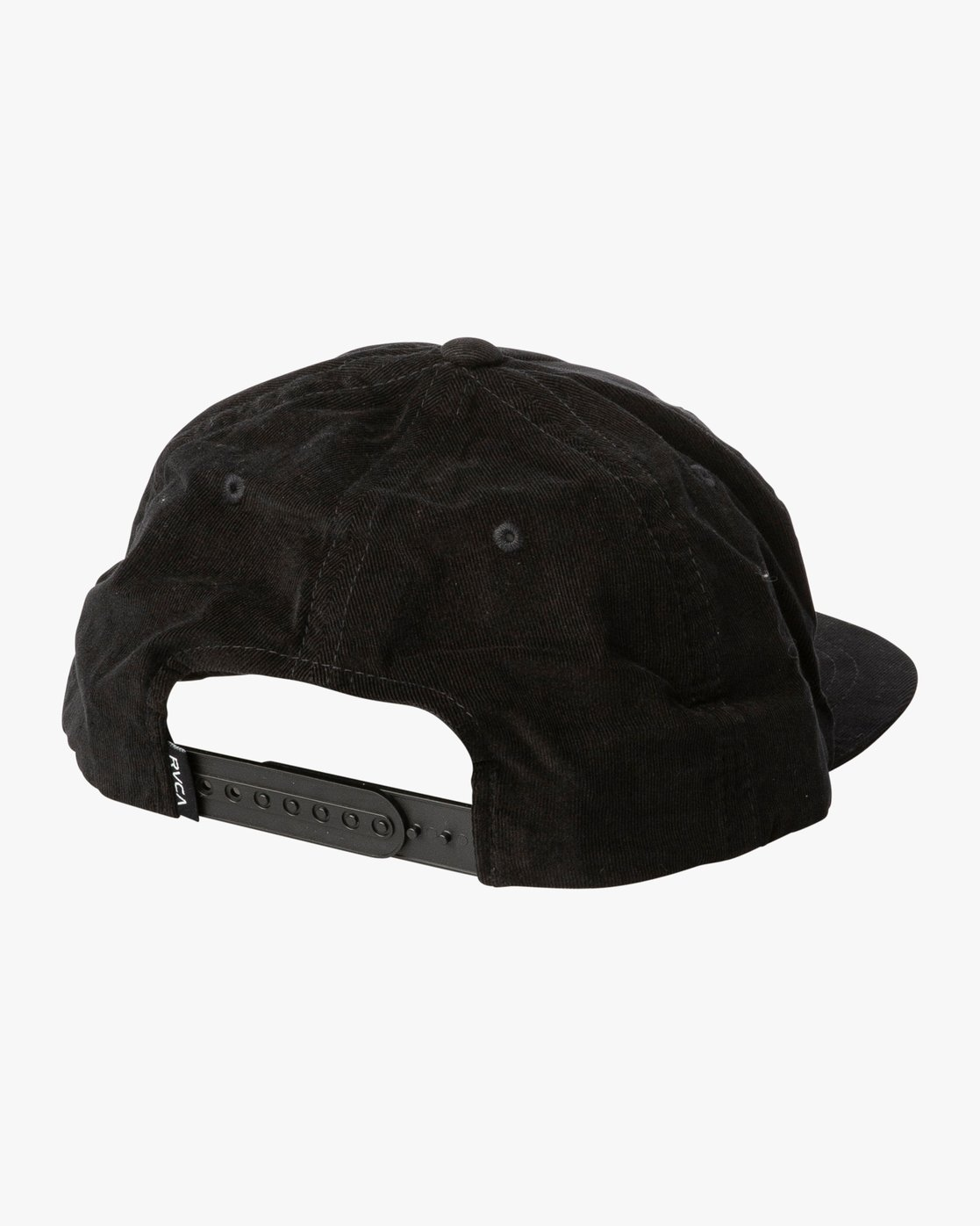 1da6e6a91f4e2c 1 Everett Snapback Hat Black MAHWTREV RVCA