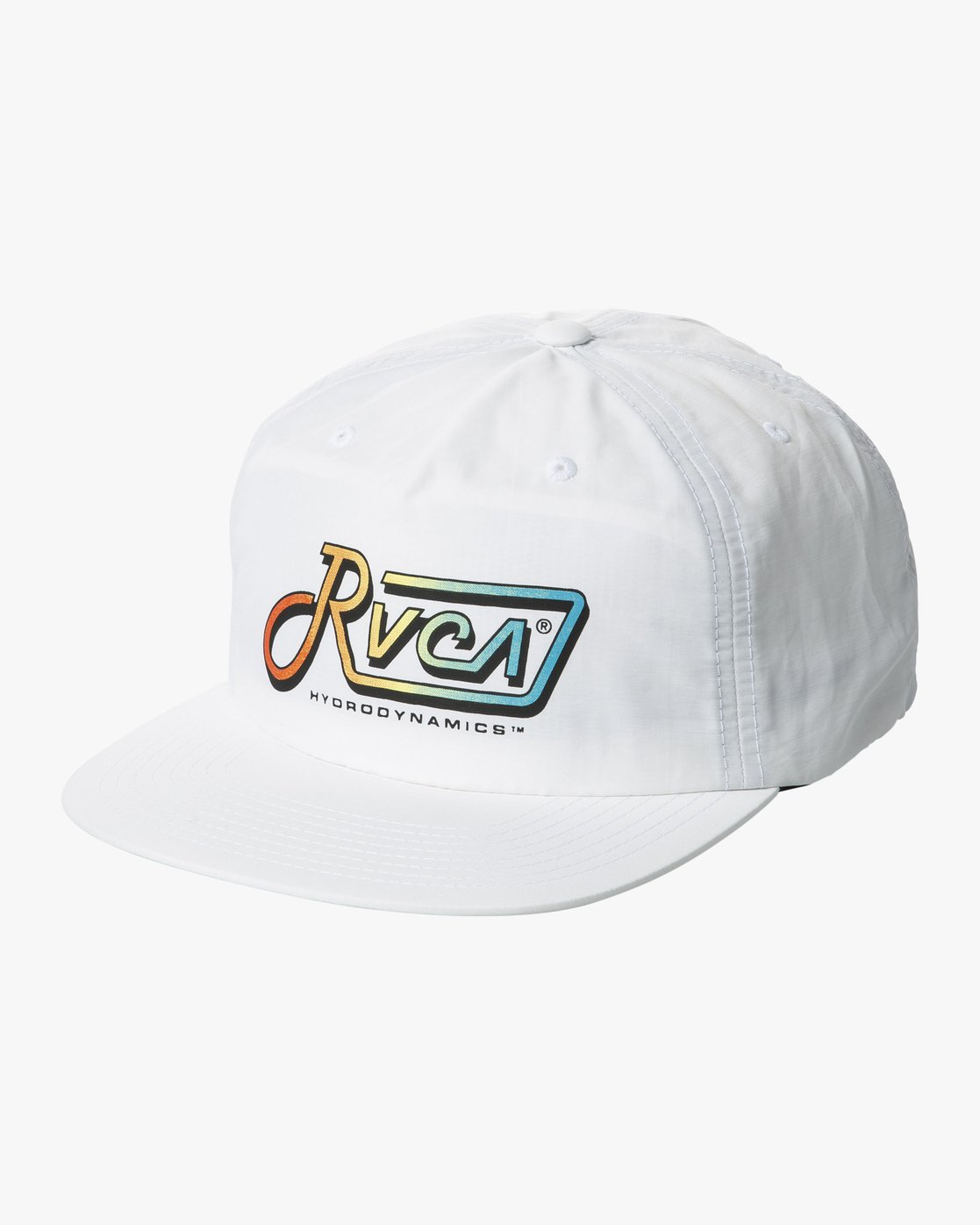 0 GRAPHIC PACK SNAPBACK HAT White MAHWTRGP RVCA