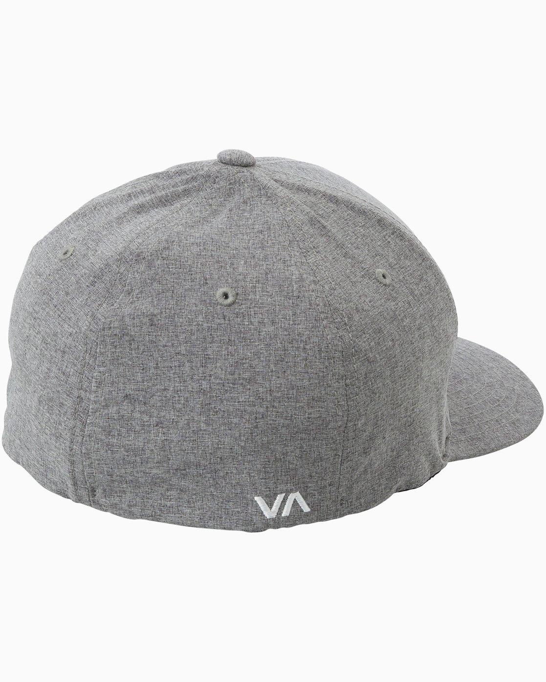 1 Scores Flexfit Hat Grey MAHWTRSC RVCA