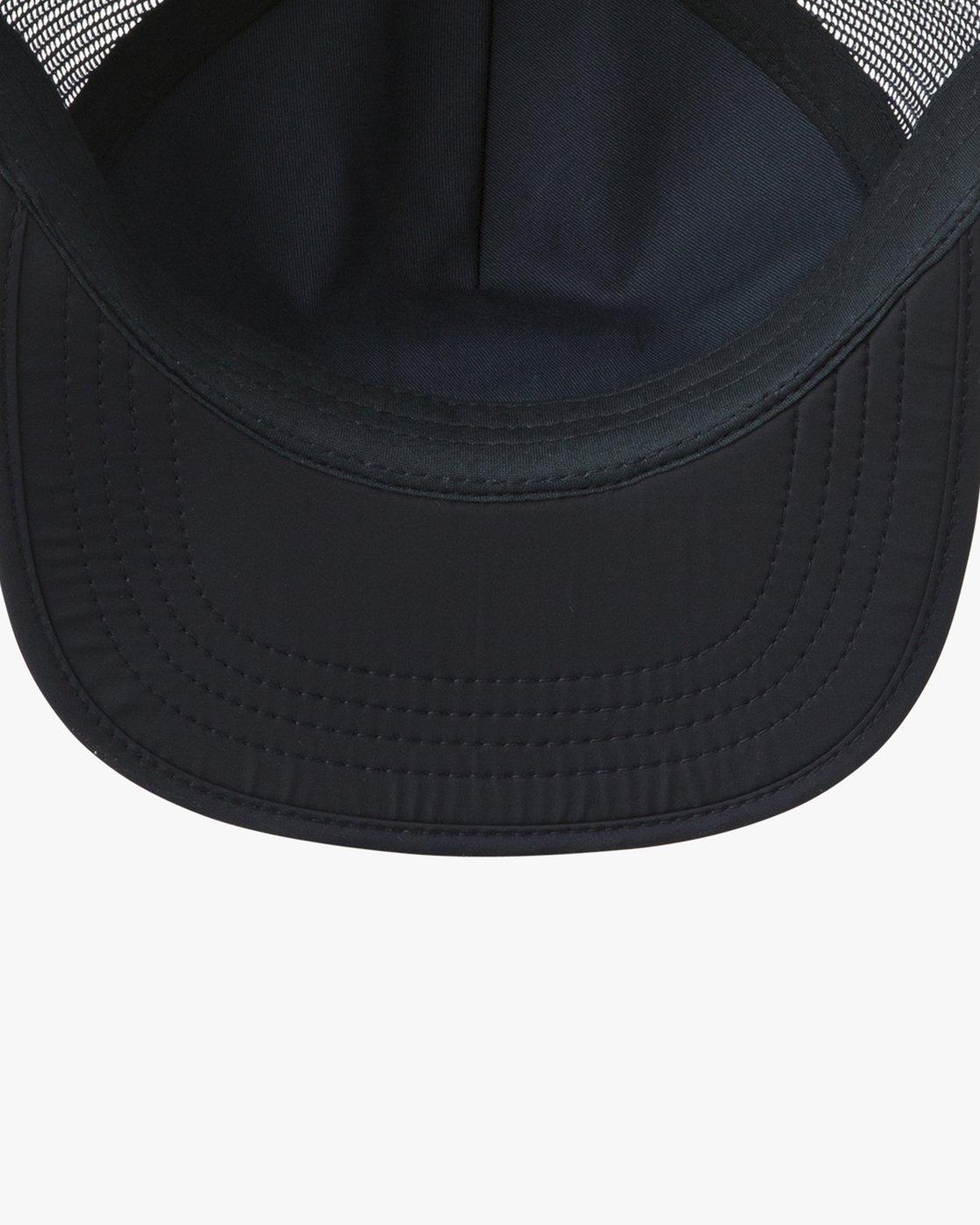 2 Travel Trucker Hat Blue MAHWTRTT RVCA