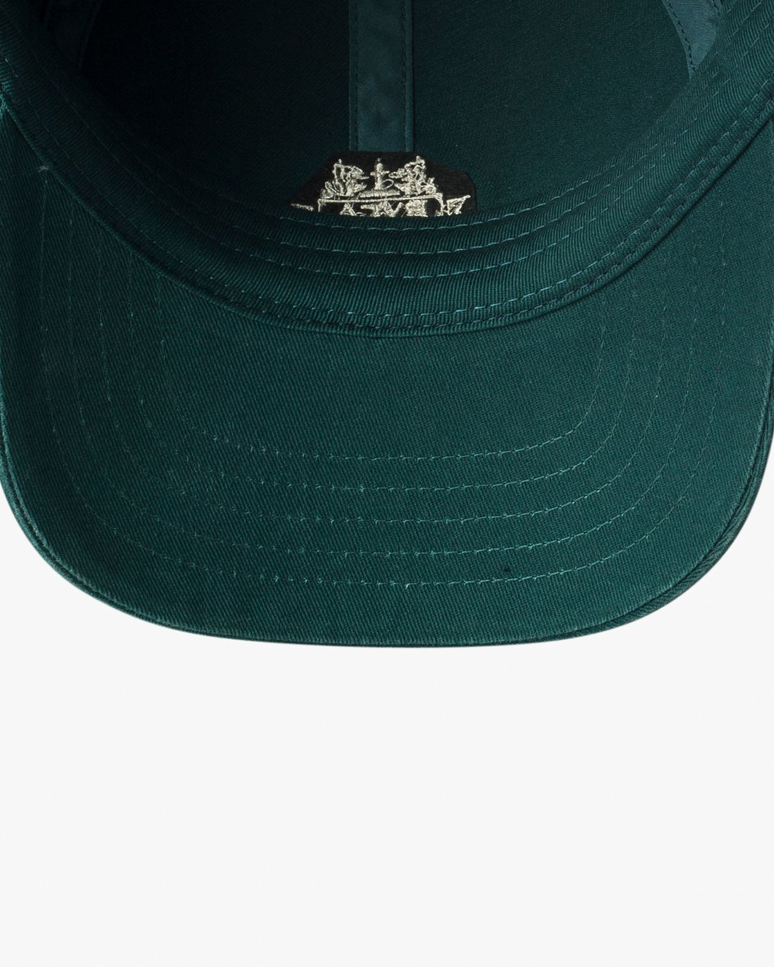 2 Crest Strapback Hat Grey MAHWURCC RVCA