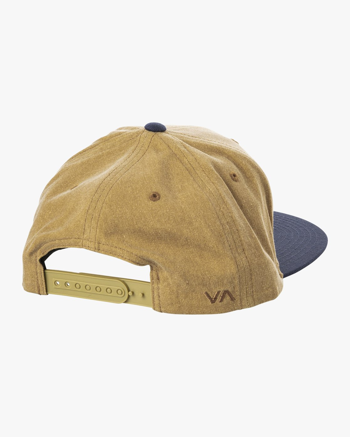 1 Navigate Snapback Hat Brown MAHWURNA RVCA