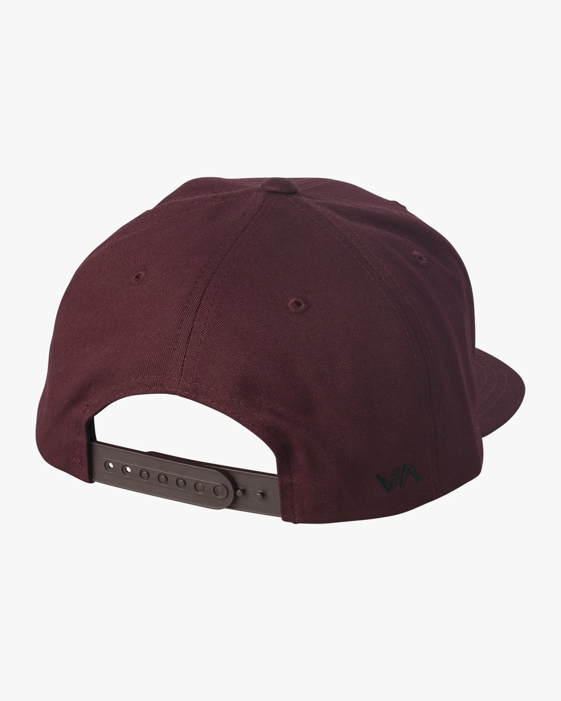 1 Navigate Snapback Hat Red MAHWURNA RVCA