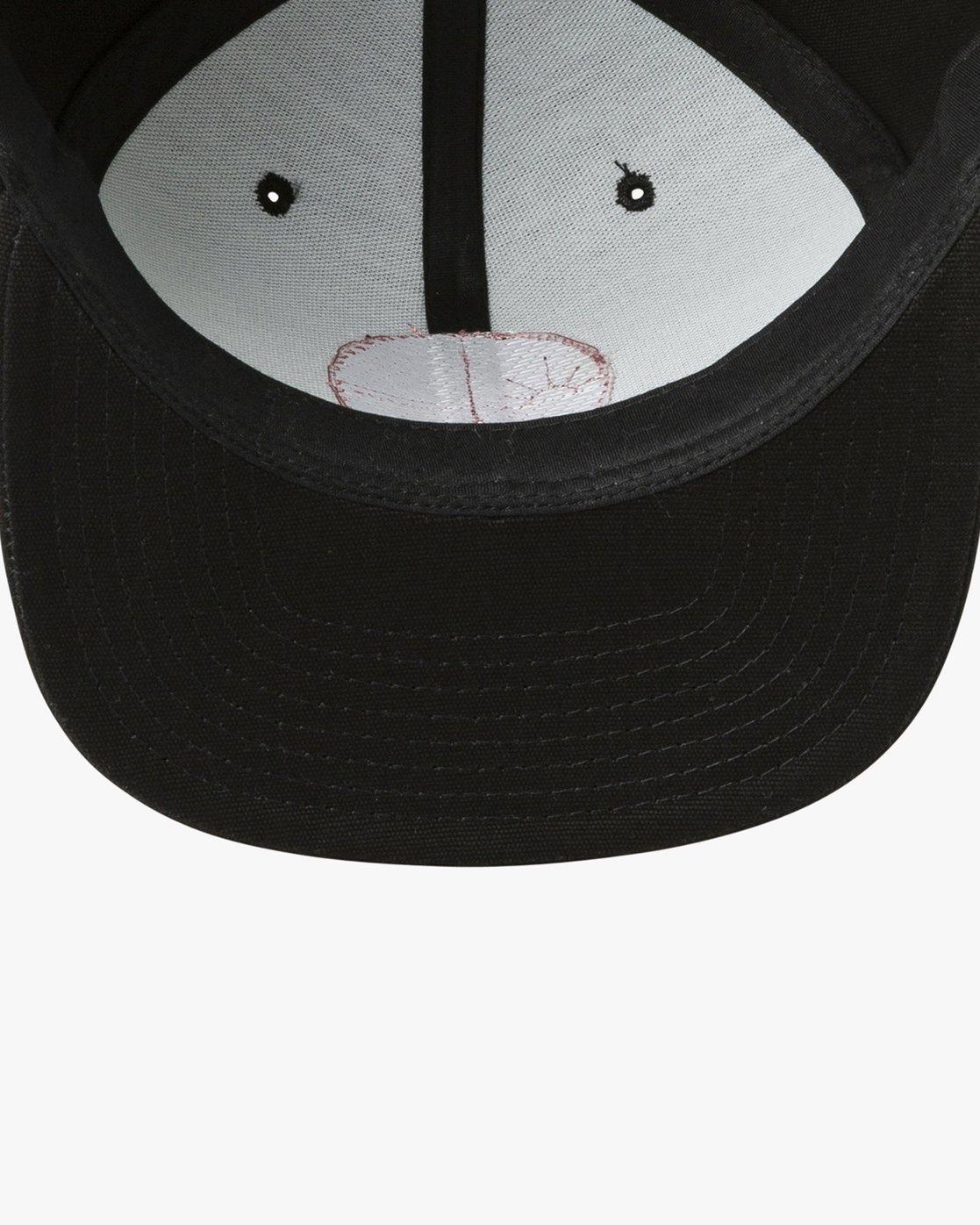 2 Tropics Snapback Hat Black MAHWURRT RVCA
