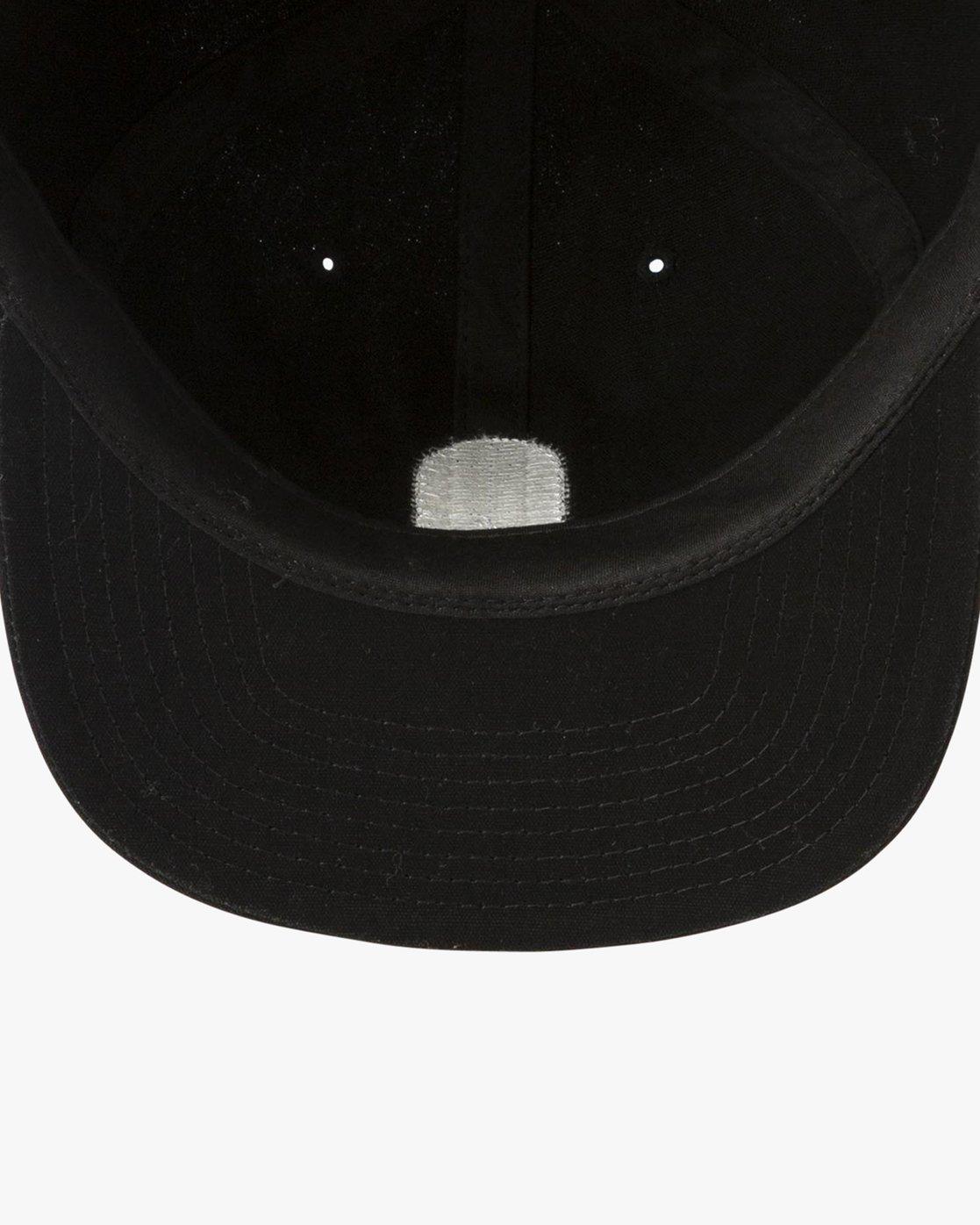 newest 0bf1a a06da 2 Tombstone Strapback Hat Black MAHWURTS RVCA