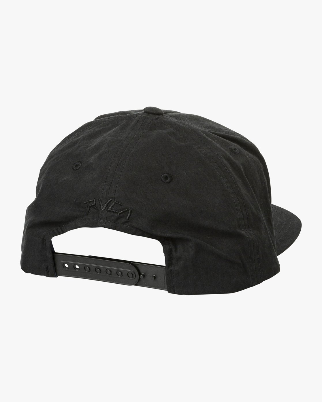 1 T Whitehead Snapback Hat Black MAHWURTW RVCA