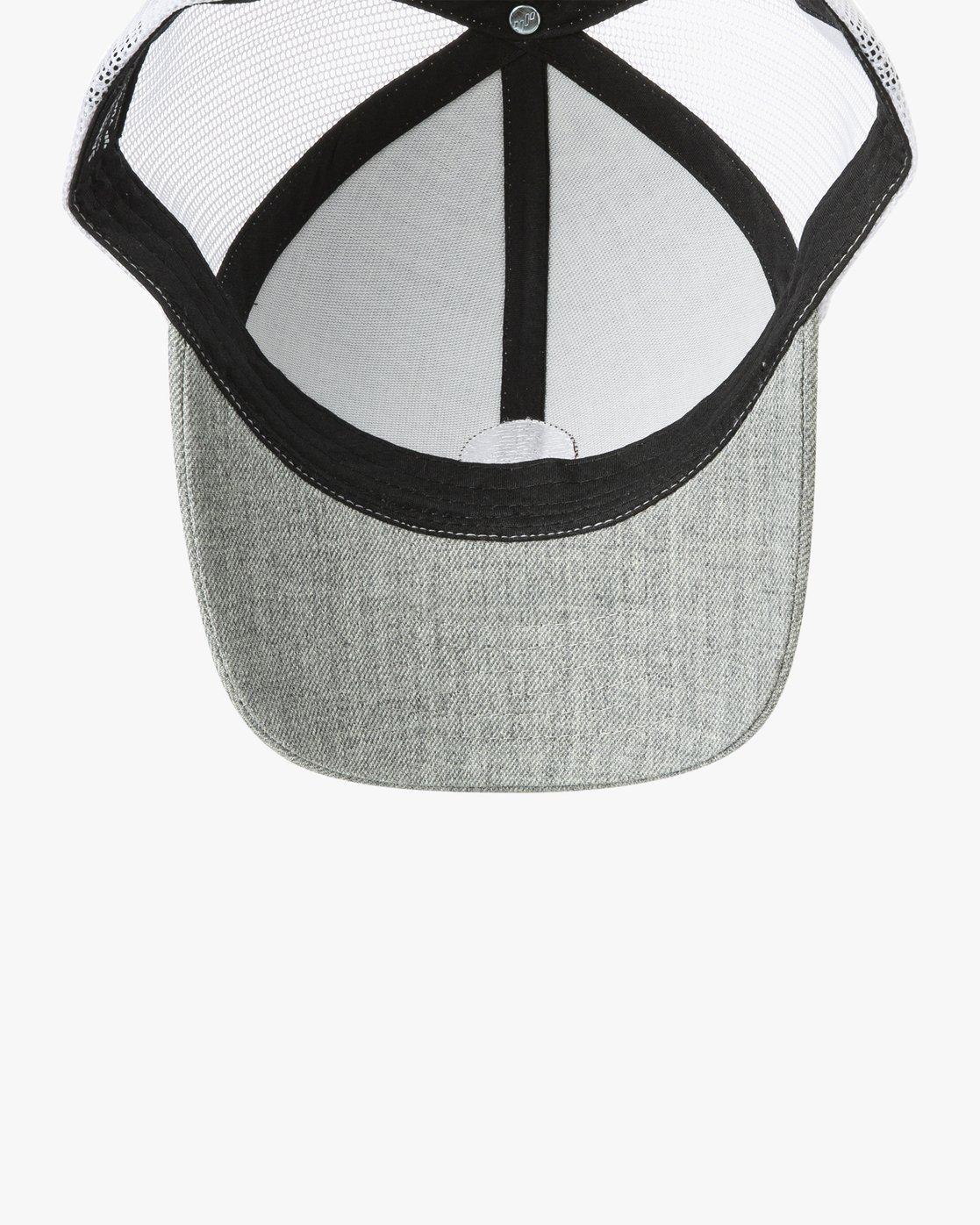 2 Volume Trucker Hat Grey MAHWURVT RVCA