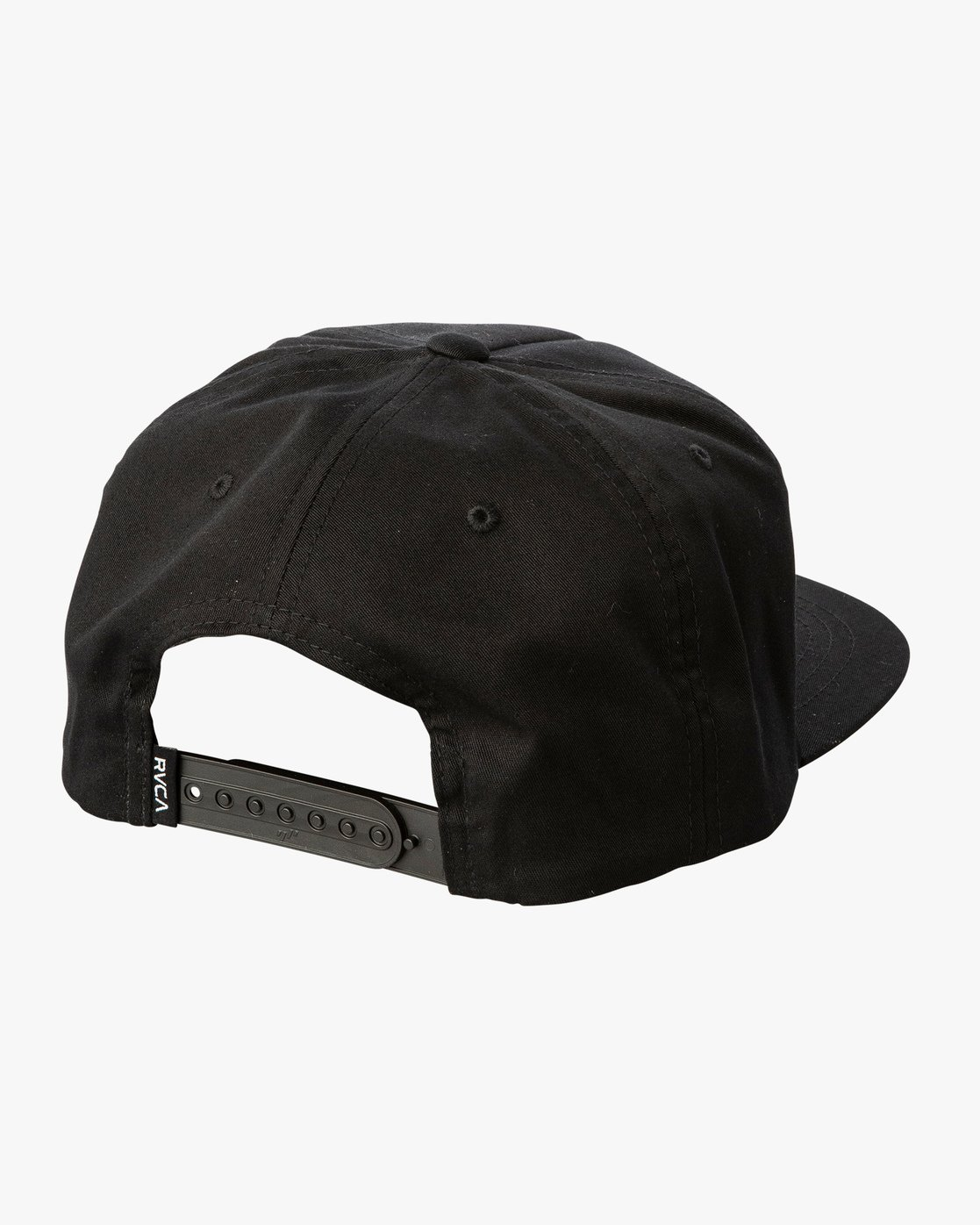 2 Alleged Les Snapback Hat Black MAHWVRAH RVCA
