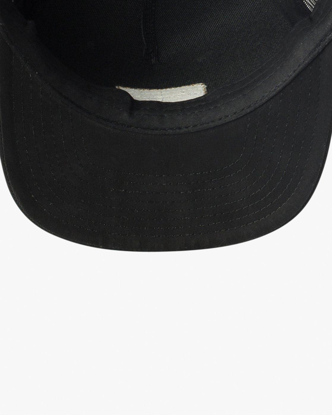 2 Balance Trucker Hat Black MAHWVRBT RVCA