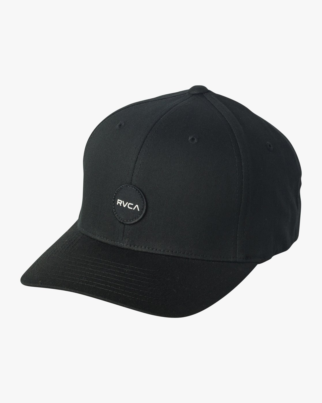0 Mini Motors Flex Fit Hat Black MAHWVRMM RVCA