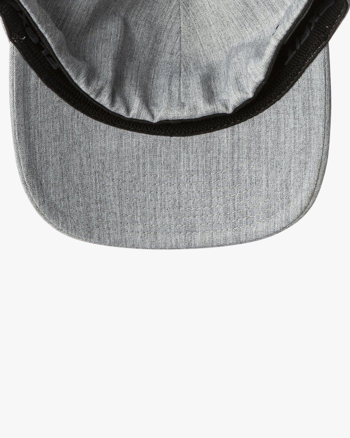 2 Mini Motors Flex Fit Hat Grey MAHWVRMM RVCA